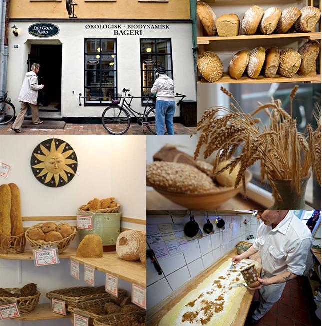 Det Gode Brød i Nørregade. Et økologisk og biodynamisk bageri i midten af Odense